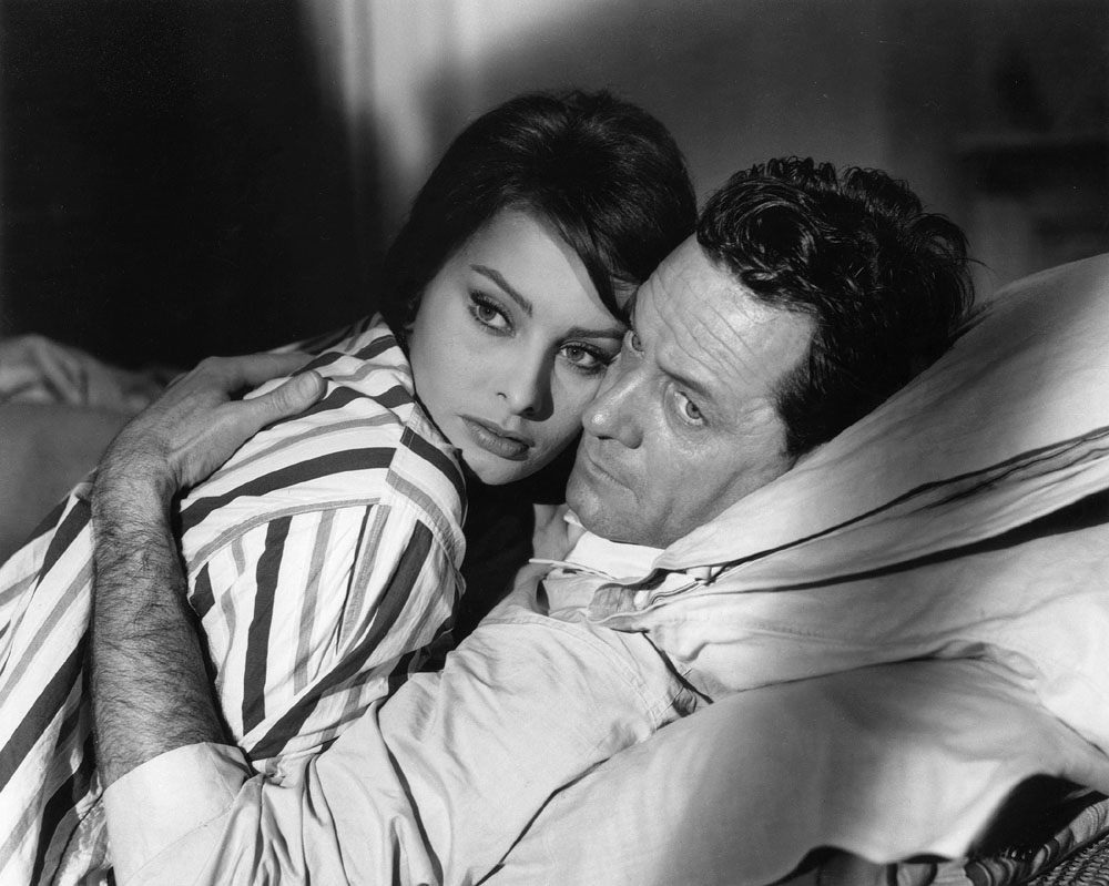 William Holden, Sophia Loren in The Key