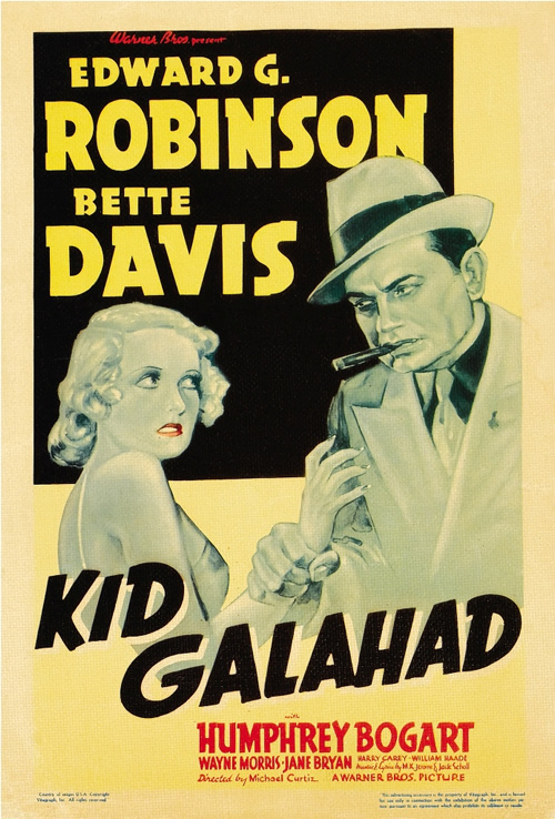 Kid Galahad Bette Davis Edward G. Robinson