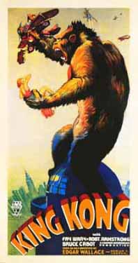 King Kong by Ernest Shoedsack and Merian C. Cooper