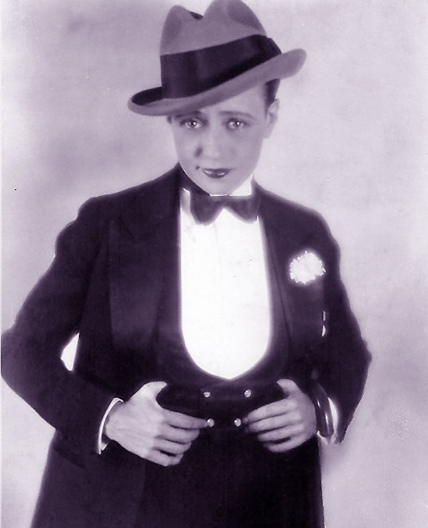 Male impersonator Kitty Doner: Vaudeville Theatre History