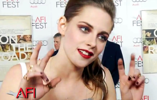 Kristen Stewart On the Road AFI FEST