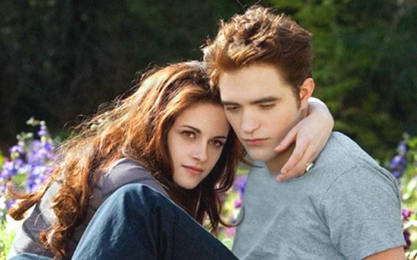 Kristen Stewart and Robert Pattinson Twilight Breaking Dawn - Part 2