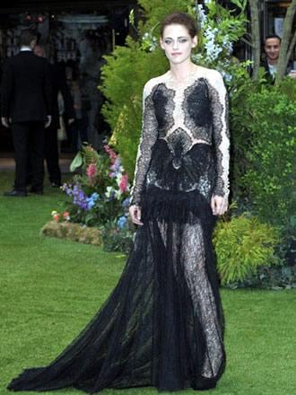 Kristen Stewart Marchesa dress SWATH premiere