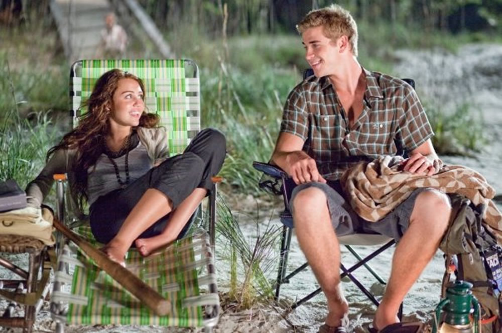 Miley Cyrus, Liam Hemsworth in love The Last Song