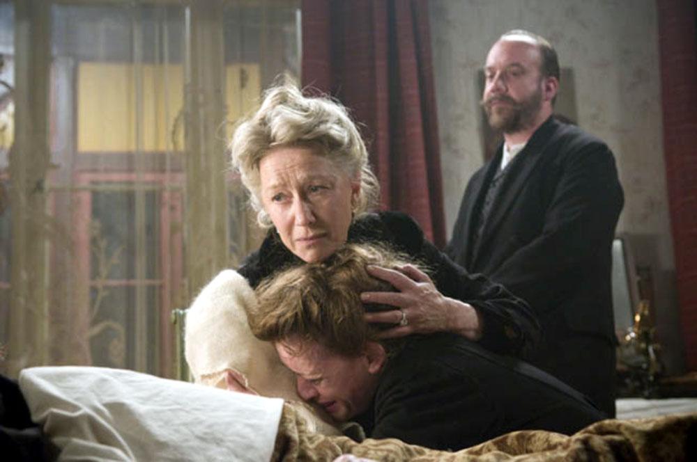 Helen Mirren, Anne-Marie Duff, Paul Giamatti in The Last Station