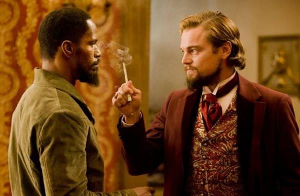 Leonardo DiCaprio Django Unchained Jamie Foxx
