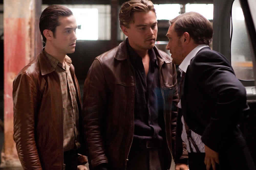 Joseph Gordon-Levitt Leonardo DiCaprio Tom Hardy Inception