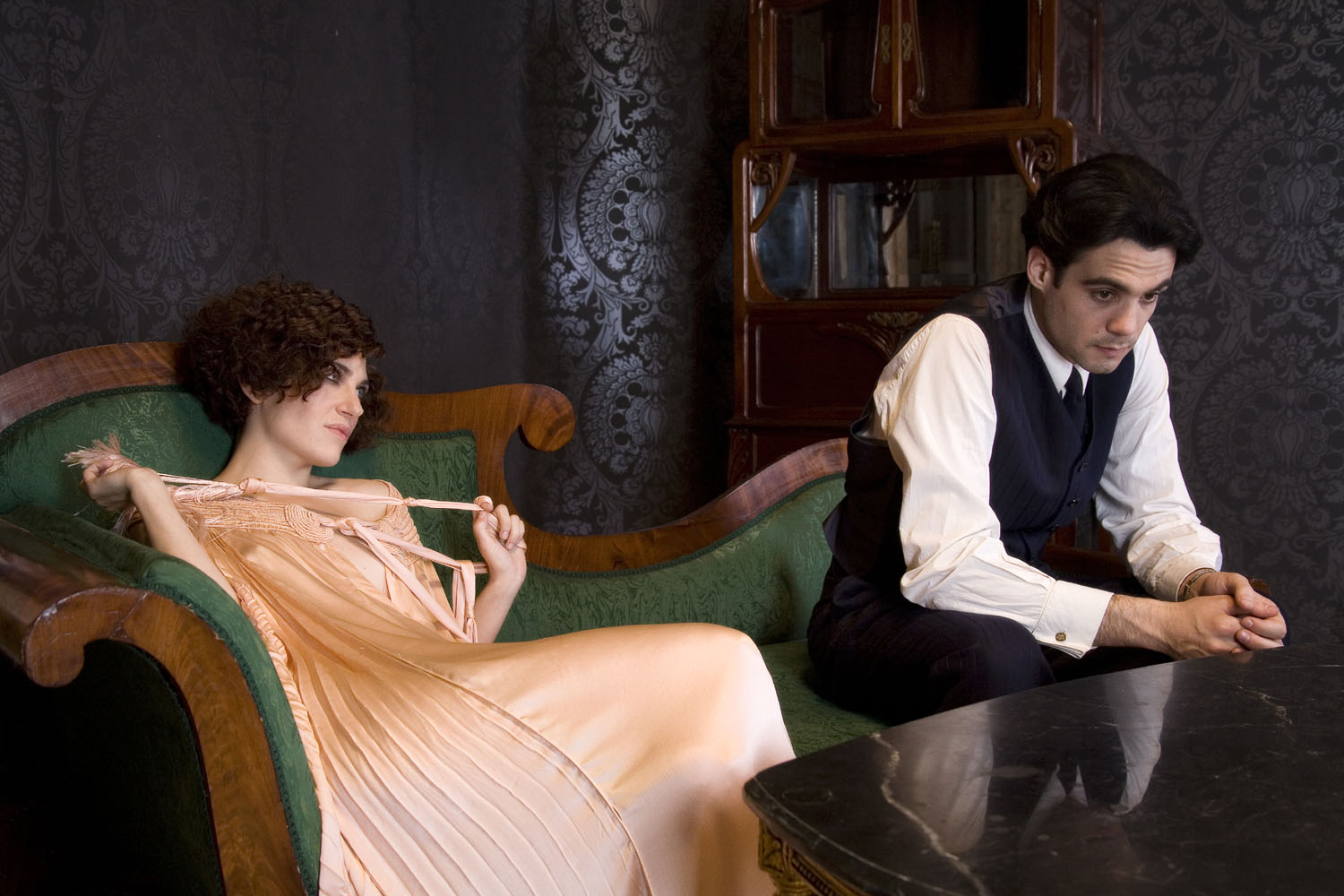 Javier Beltran, Marina Gatell in Little Ashes