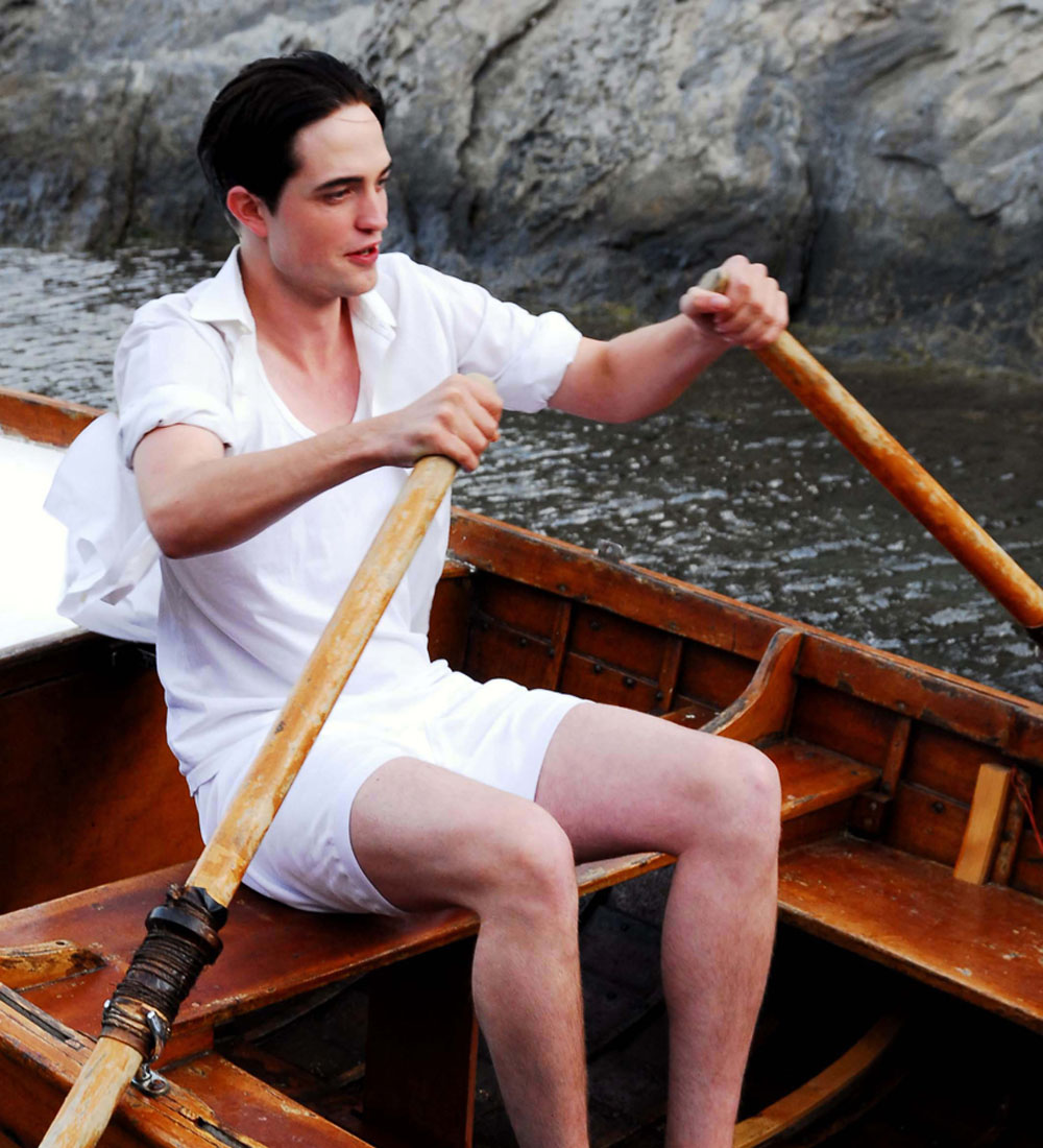 Robert Pattinson in Little Ashes