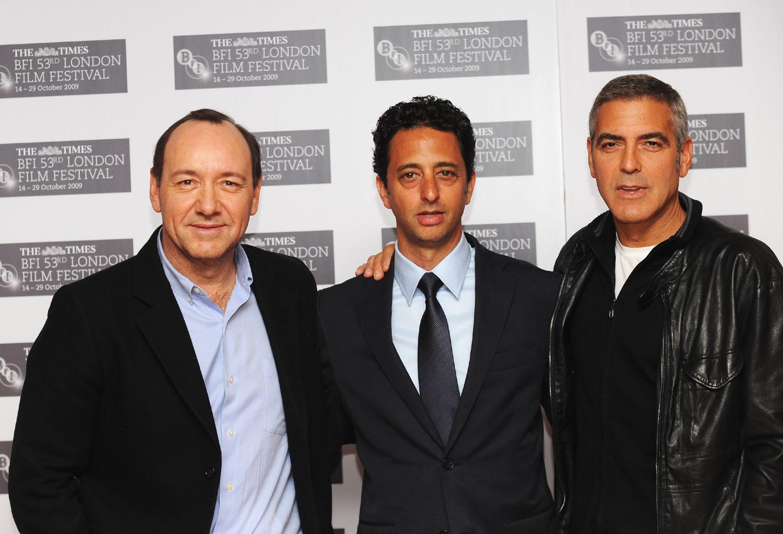 Kevin Spacey, Grant Heslov, George Clooney