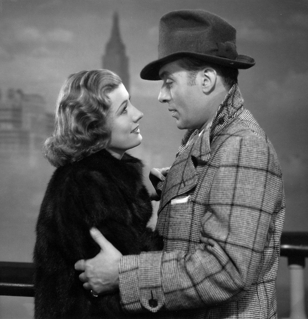 Irene Dunne, Charles Boyer in Love Affair