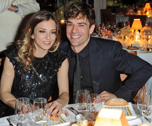 Luca Argentero Myriam Catania Cannes Film Festival