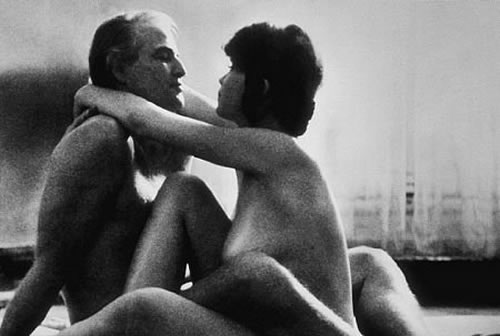 Maria Schneider Last Tango in Paris Marlon Brando