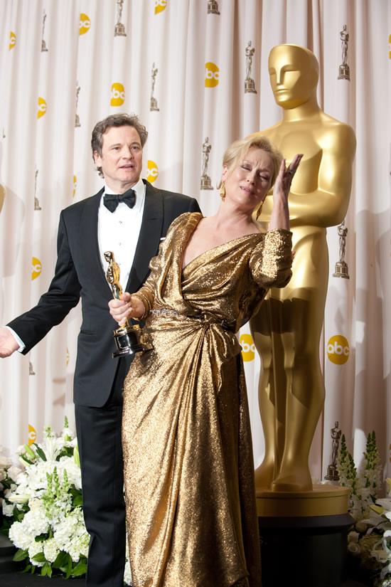 Meryl Streep Colin Firth