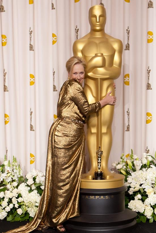 Meryl Streep Oscar winner