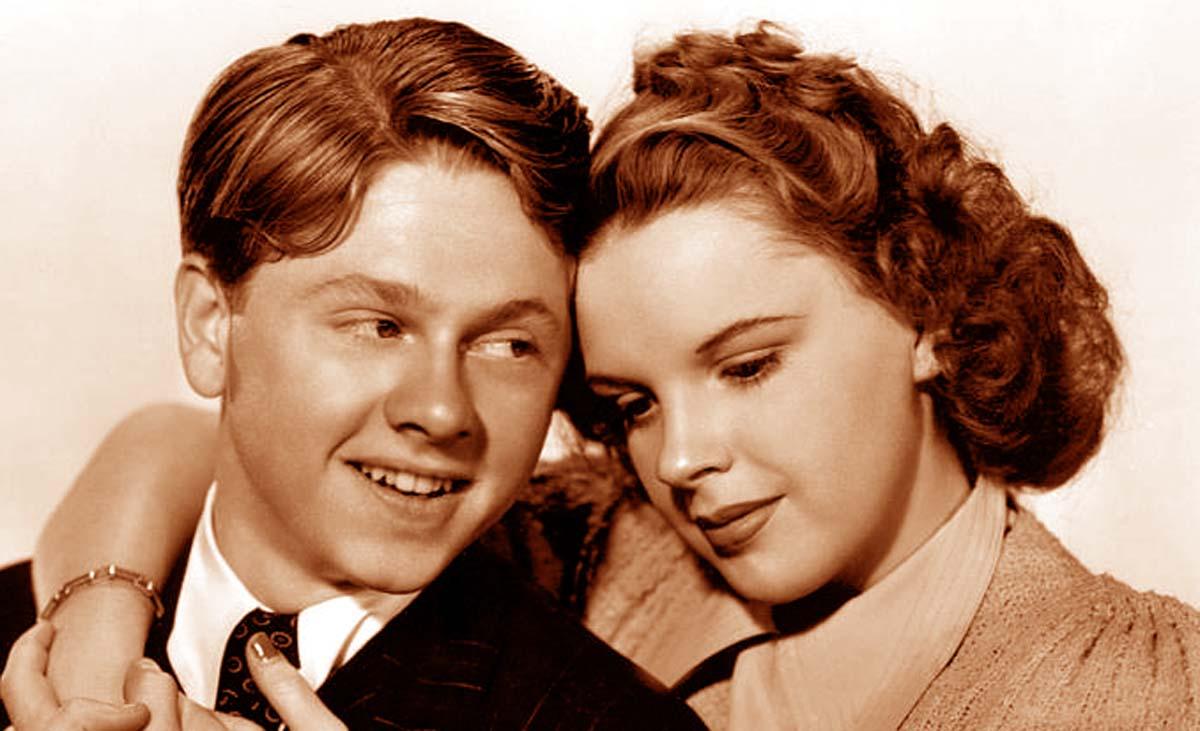Mickey Rooney movies Judy Garland