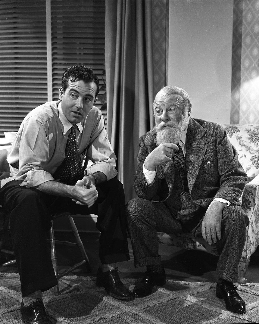 John Payne, Edmund Gwenn in Miracle on 34th Street