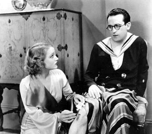Constance Cummings, Harold Lloyd in Movie Crazy