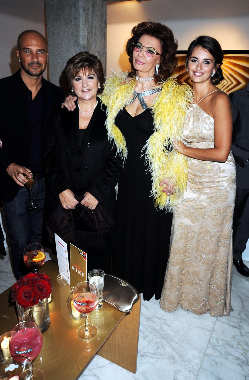 Sophia Loren Penélope Cruz