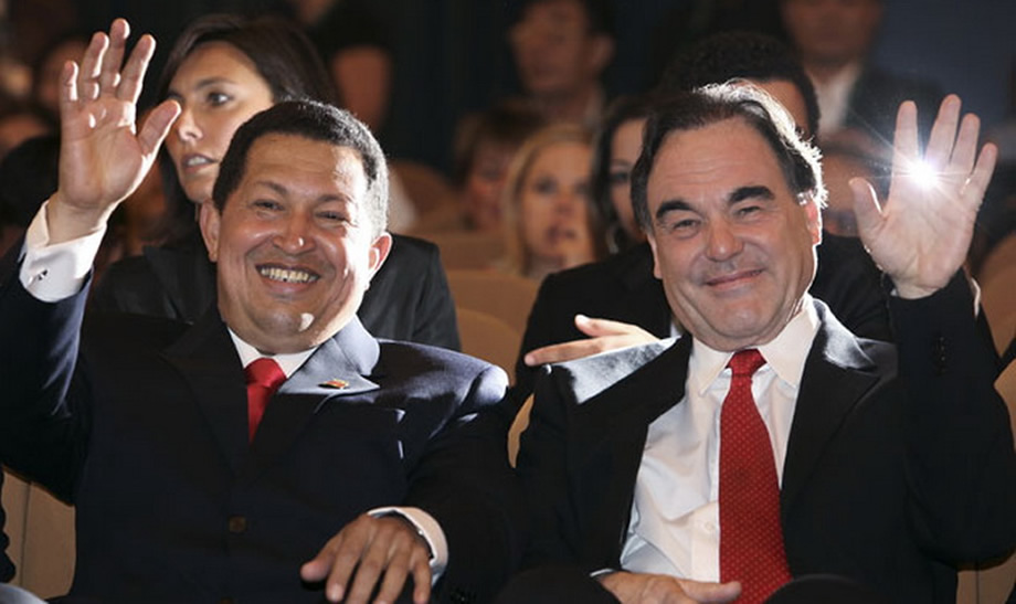 Oliver Stone Hugo Chavez South of the Border