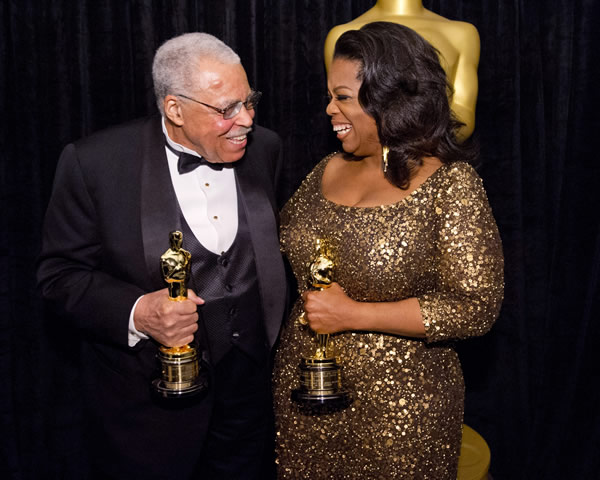 James Earl Jones Oprah Winfrey
