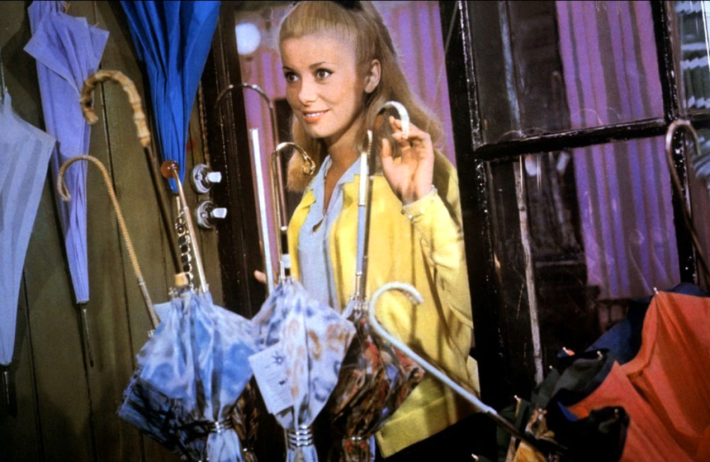 Catherine Deneuve in The Umbrellas of Cherbourg