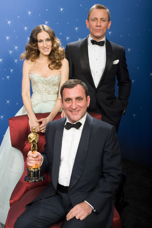 Michael O'Conner, Sarah Jessica Parker and Daniel Craig