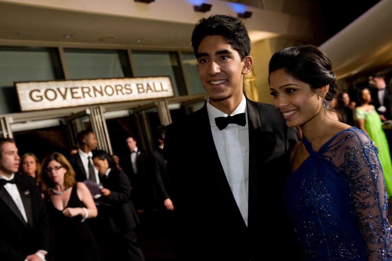 Dev Patel, Freida Pinto