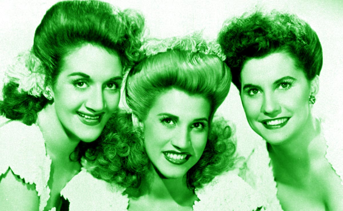 Patty Andrews The Andrews Sisters Maxene LaVerne