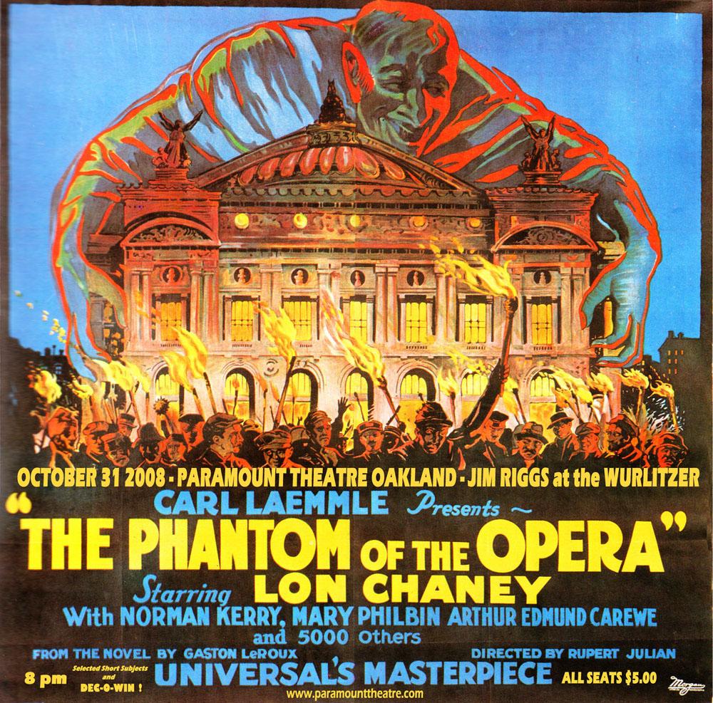 The Phantom of the Opera 1925 Lon Chaney