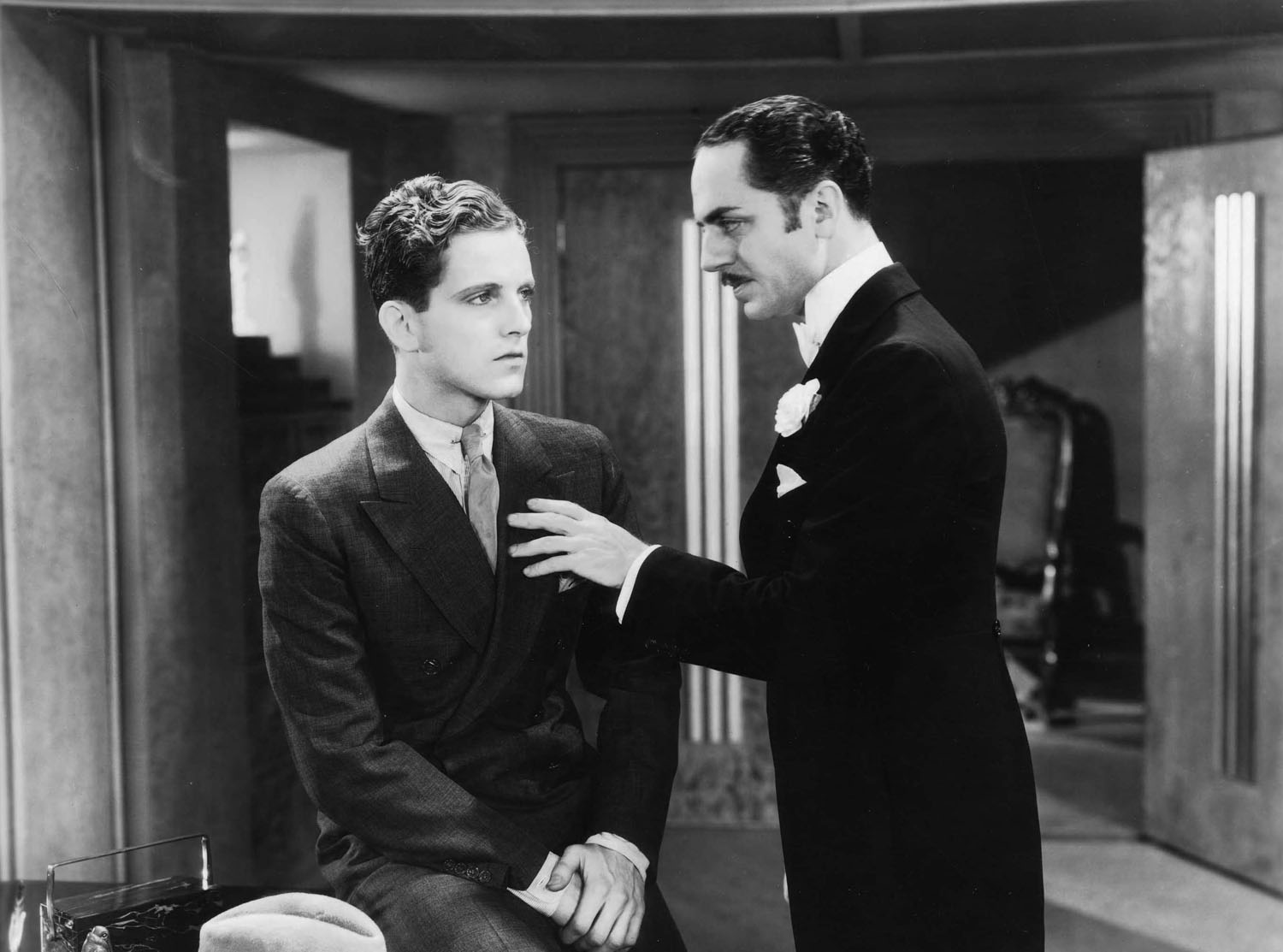 Phillips Holmes, William Powell in Pointed Heels
