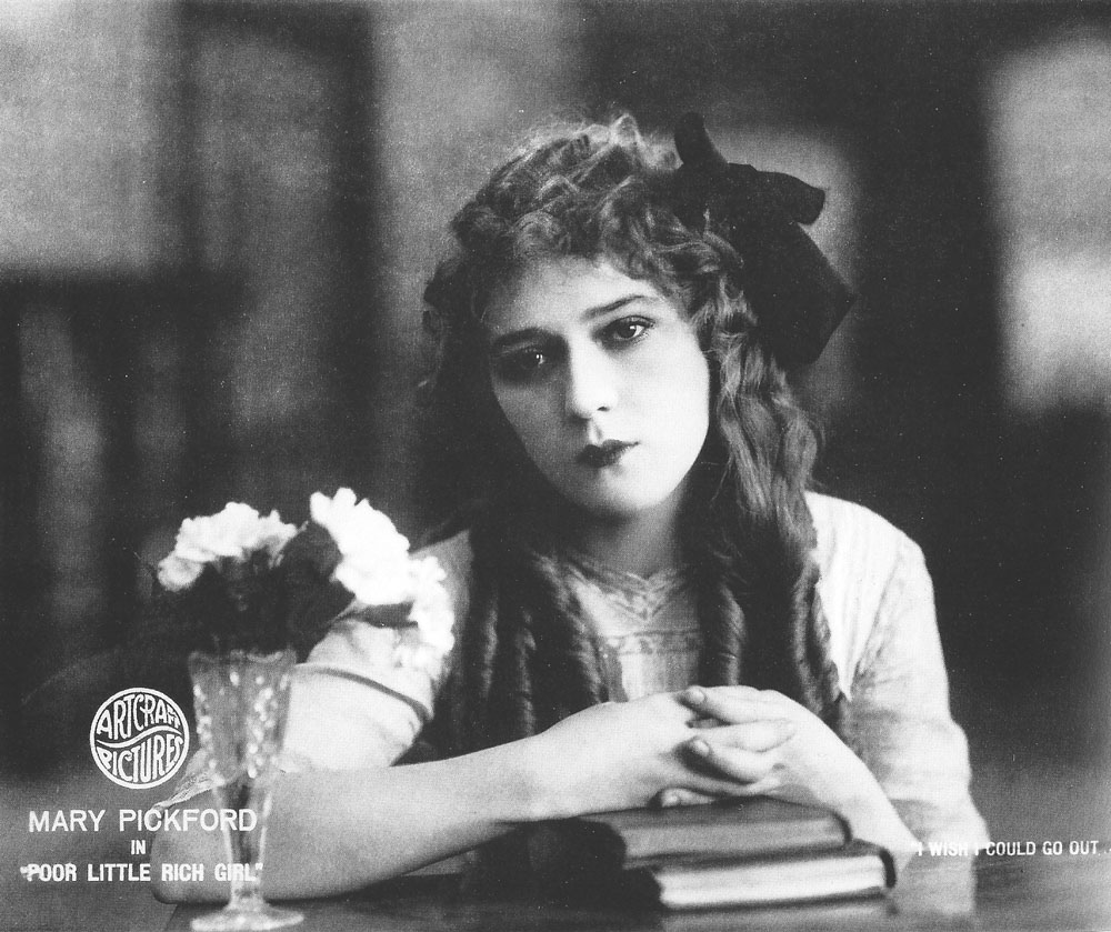 Mary Pickford in The Poor Little Rich Girl