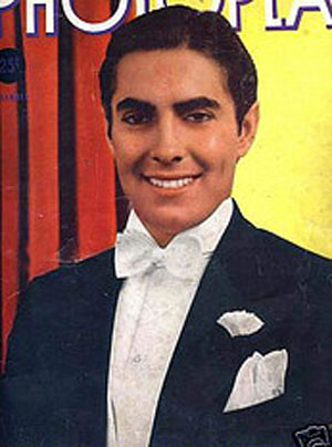 Tyrone Power Photoplay cover