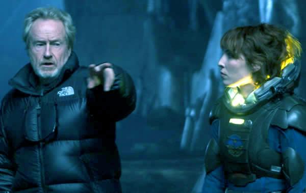 Prometheus movie Ridley Scott Noomi Rapace