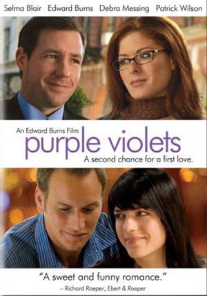 Purple Violets by Edward Burns