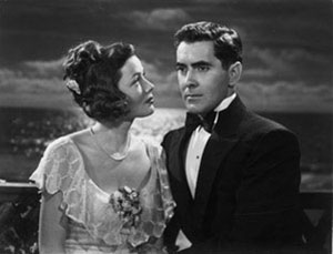 Gene Tierney, Tyrone Power in The Razor's Edge