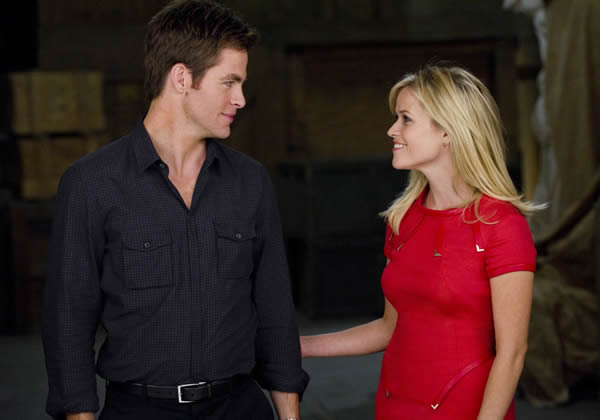 Reese Witherspoon This Means War Chris Pine