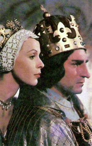 Claire Bloom, Laurence Olivier in Richard III