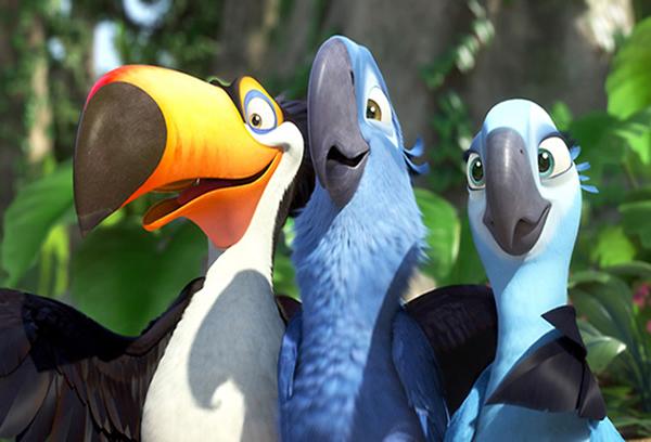 Rio animated movie