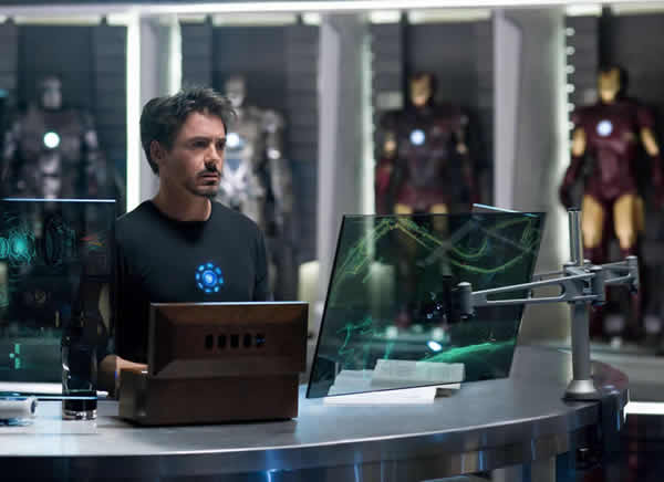 Robert Downey Jr Iron Man 2