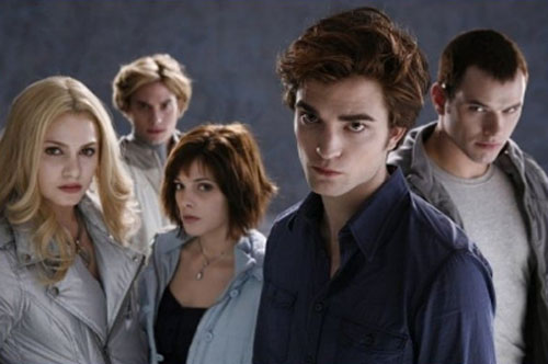 Robert Pattinson, Nikki Reed, Jackson Rathbone, Ashley Greene, Kellan Lutz, Twilight