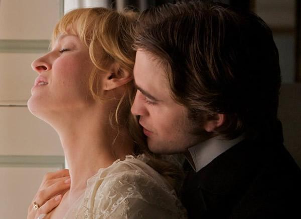 Robert Pattinson hot Bel Ami Uma Thurman