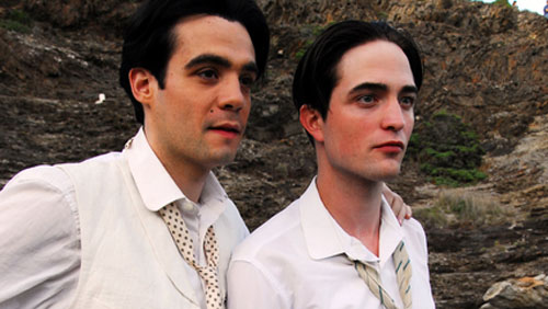 Javier Beltran, Robert Pattinson, Little Ashes
