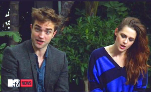 Robert Pattinson Kristen Stewart Breaking Dawn - Part 2 interview