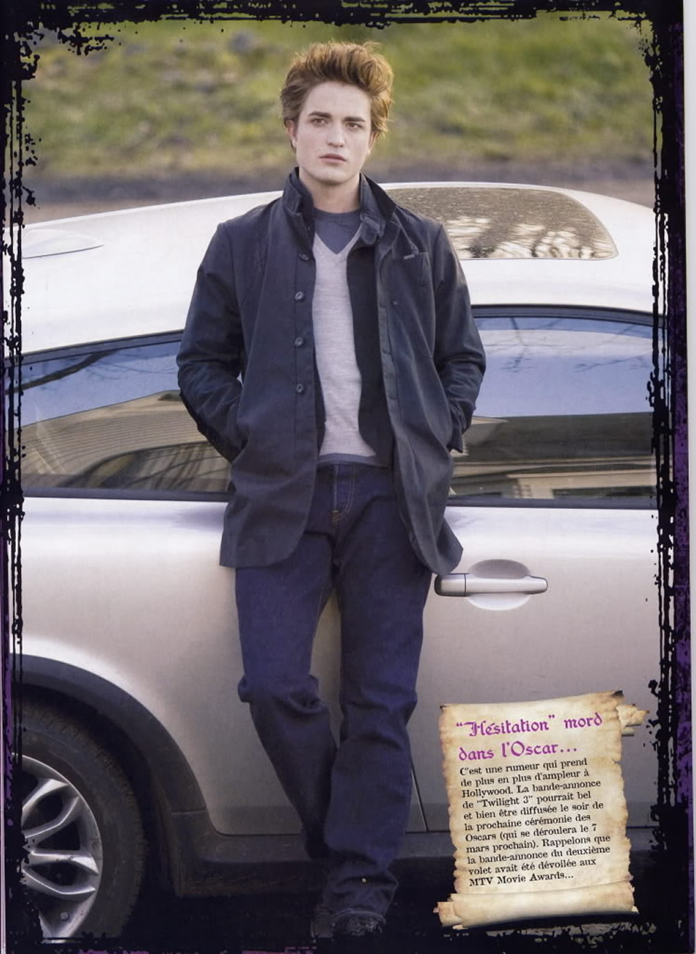 Robert Pattinson Twilight photo