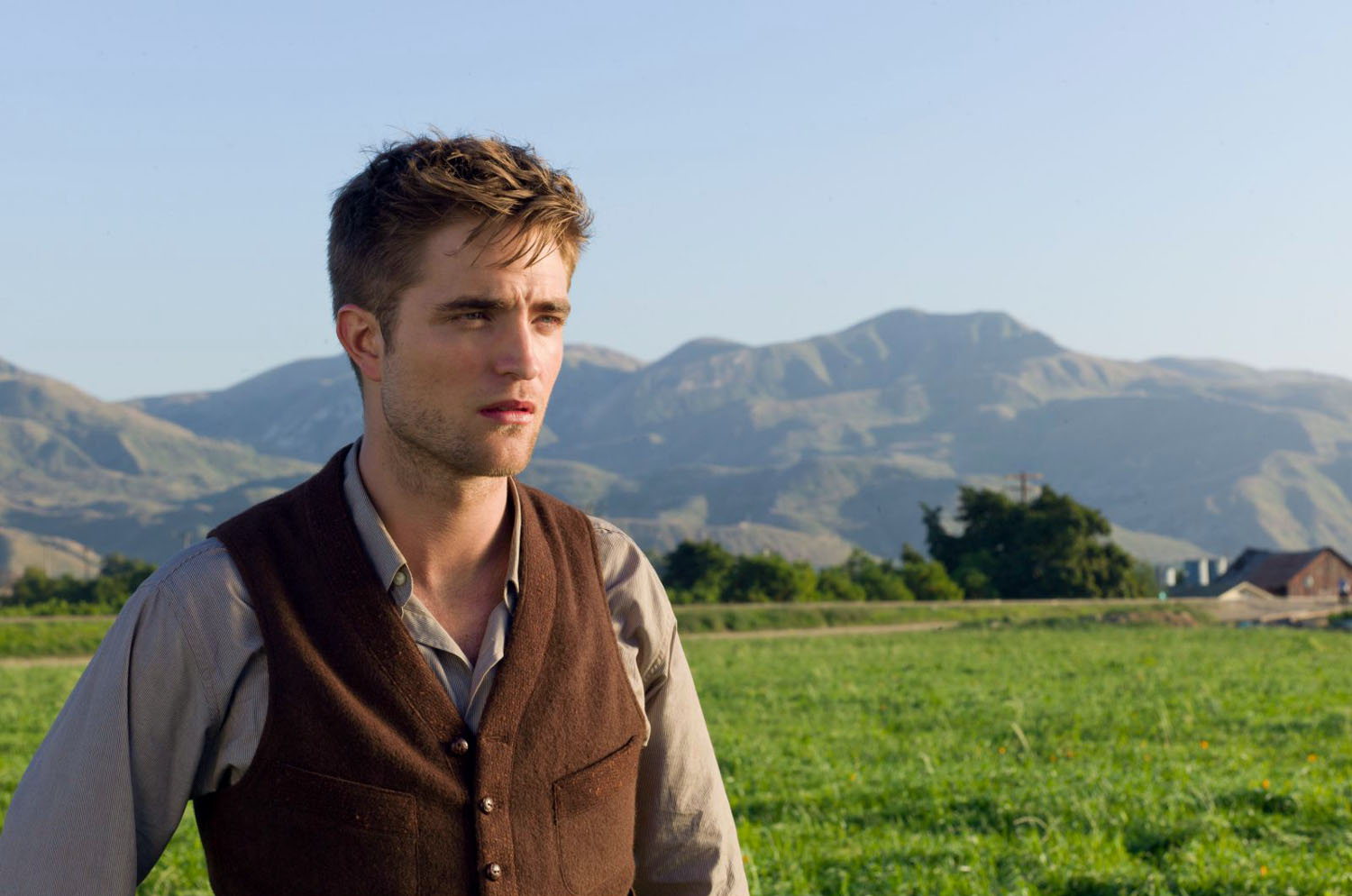 Robert Pattinson in Francis Lawrence's Water for Elephants