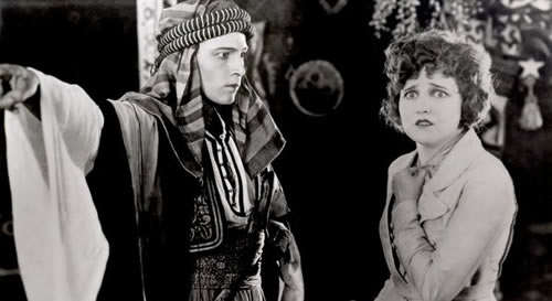 Arabs in Hollywood: Rudolph Valentino Agnes Ayres The Sheik
