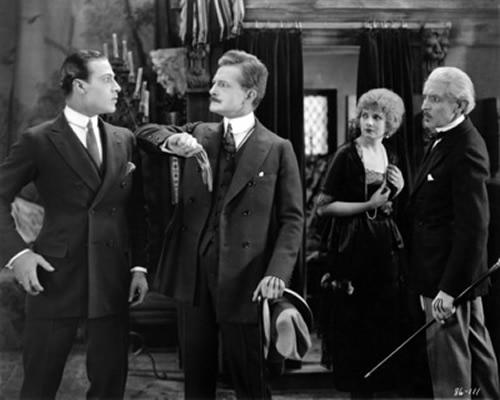 Rudolph Valentino, John Sainpolis, Alice Terry, Josef Swickard, The Four Horsemen of the Apocalypse