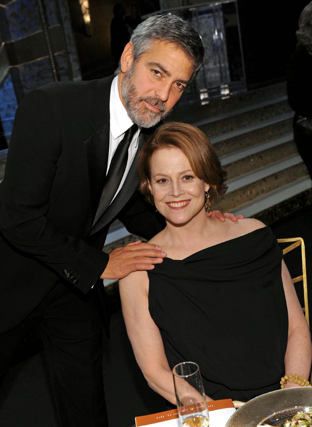 George Clooney, Sigourney Weaver