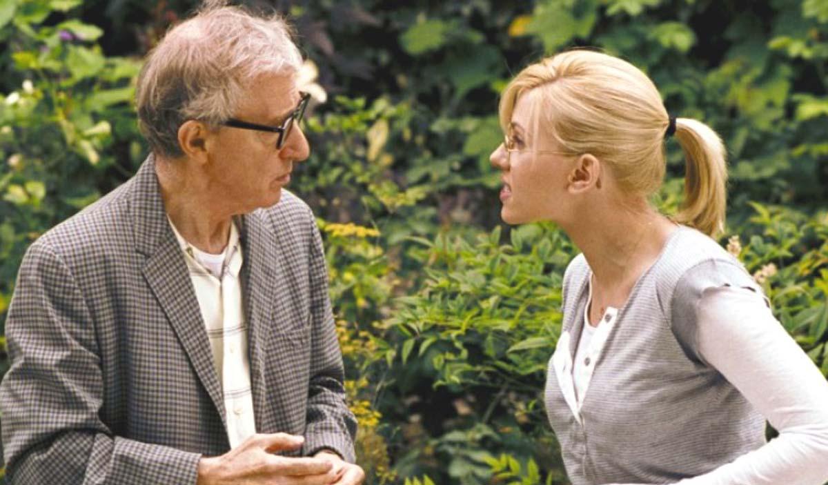 Scoop movie Woody Allen review Scarlett Johansson